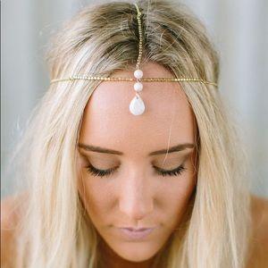 Ivory Gemstone Head Chain